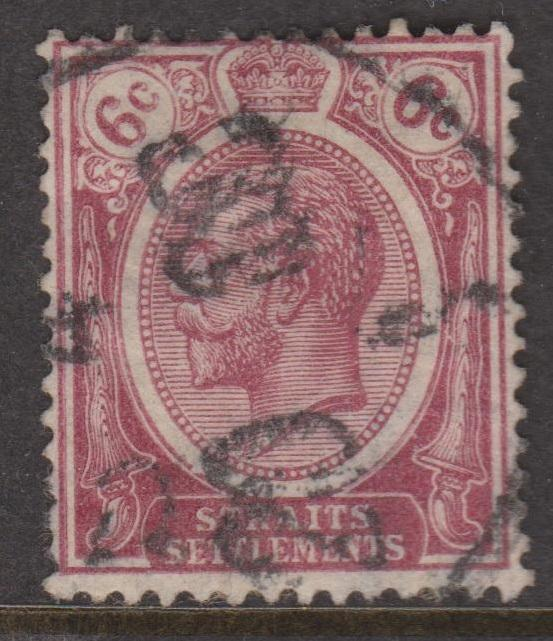 Straits Settlements Sc#188 Used