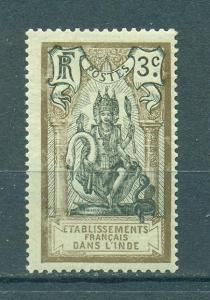 French India sc# 28 mh cat value $.40