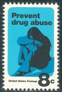 1438 Prevent Drug Abuse F-VF MNH single