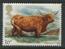 Great Britain SG 1240 - Used - British Cattle