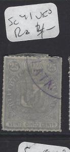DOMINICAN REPUBLIC  (PP2108B)   SC  41   VFU
