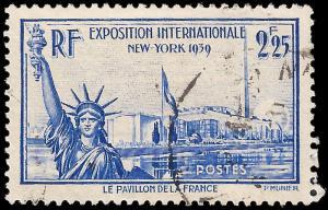 France 1939 Sc 372 UVF