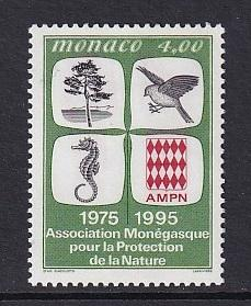 Monaco  #1980    MNH  1995  protection nature