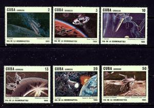 Cuba 2780-85 MNH 1985 Cosmonauts Day