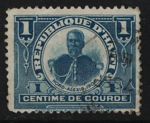 Haiti 1906/1910 Various Designs (for Domestic Postage) 1c (1/5) USED