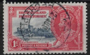 t021) Bechuanaland Protectorate. 1935. Used  SG 111 Silver Jubilee Royalty