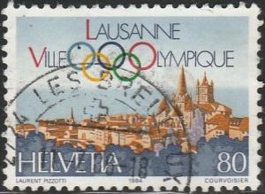 Switzerland,  #746  Used  From 1984