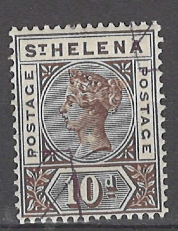 COLLECTION LOT # 3043 SAINT HELENA #46 PRECANCEL 1896 CV=$72.50