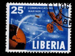 LIBERIA Scott 417 Used CTO stamp