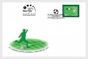 2016    HUNGARY  -  FOOTBALL EURO CHAMPIONSHIPS FIRST DAY COVER