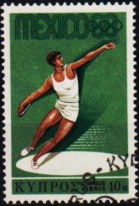 Cyprus. 1968  10m S.G.324 Fine Used