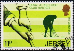 Jersey. 1978 11p S.G.185 Fine Used