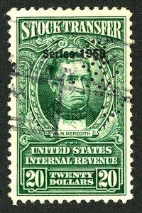 U.S. #RD329 Used