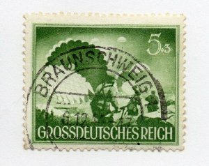 Germany 1943 Early Issue Fine Used 5pf. NW-100709