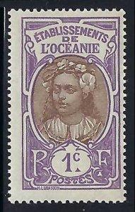 French Polynesia 21 MOG T572-2