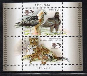 Estonia Sc 766 2014 Tallinn Zoo stamp sheet mint NH