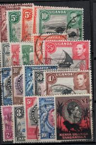 Kuwait 1945 SC 59-71 Used Set CV $165