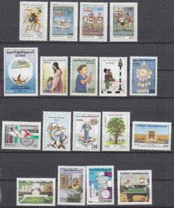 J28859, 1992 syria better stamps mnh all dif #