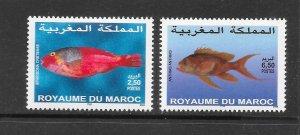 FISH - MOROCCO #950-1 MNH