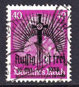 GERMANY 427 AUSSIG IST FREI SWORD OVERPRINT CDS F/VF SOUND