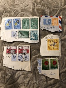 Mix matched stamps