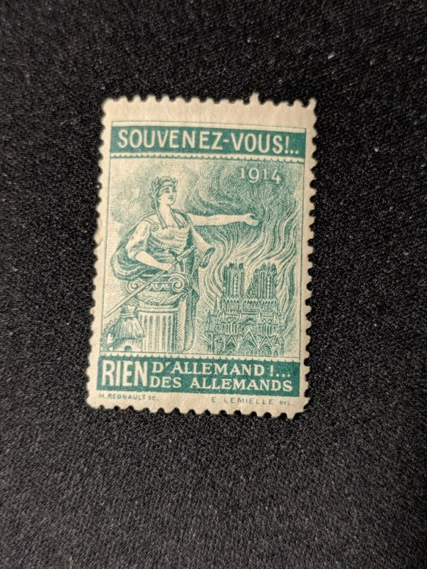 French 1914 cinderella