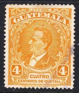 Guatemala 237 - FVF used
