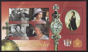 Tokelau #306 s/sheet F-VF Mint NH ** Elizabeth II