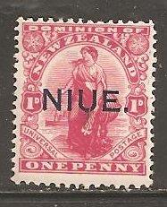 Niue  SC  22 Mint  Hinged