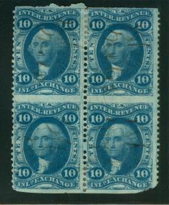U.S. - R36b - Block of 4 - Fine/Very Fine - Used