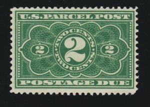 US JQ2 2c Postage Due Mint F-VF OG NH SCV $160