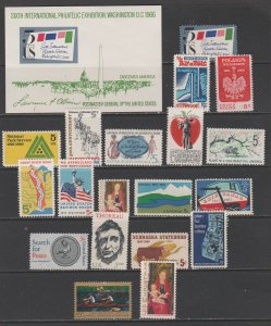 United States Postage Stamps MNH (20 stamps)