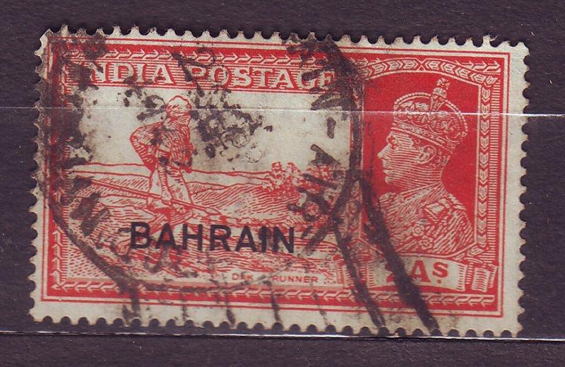 J23610 JLstamps 1938-41 bahrain used #24 king