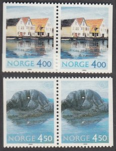 1995 Norway 1176-1177Paar Architecture / Tourism 6,00 €