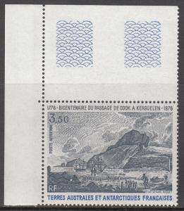 French Southern Antarctic, Sc 109, MNH, 1976, Kerguelen Island