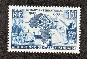 French West Africa Scott #64 MH