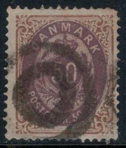Denmark #33  CV $37.50