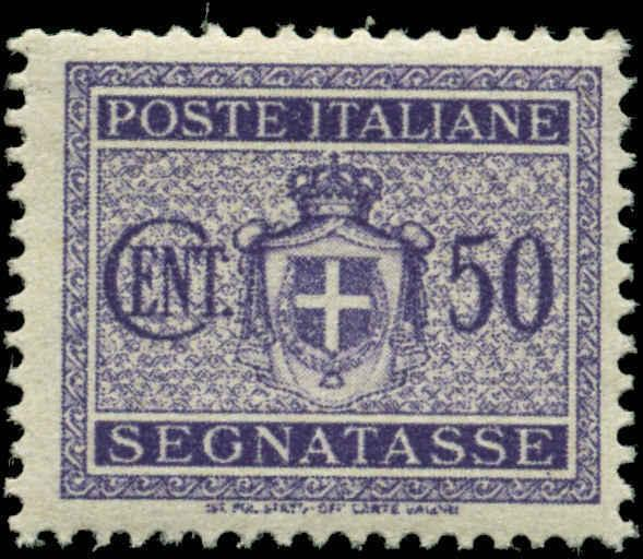 Italy #J58  Mint Never Hinged