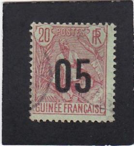 French  Guinea  #   61   used