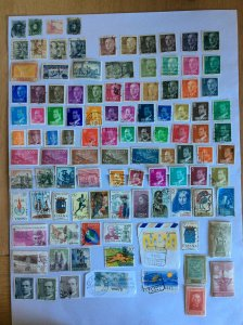 Spain 100+ stamps - Lot D