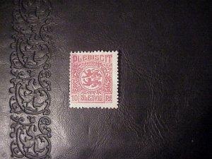 1920 PLEBISCIT SLESVIG 10 PFENNIG STAMP MINT/HINGED