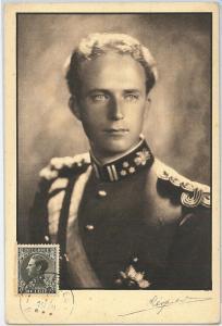 59136  -  BELGIUM - POSTAL HISTORY: MAXIMUM CARD 1936  -    ROYALTY