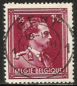 Belgium 1950 Scott# 288 Used