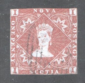NOVA SCOTIA #1, F/VF, Used.  CV 500.00   ....   4590001