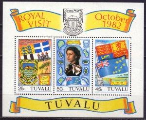 Tuvalu. 1982. bl7. Queen Victoria. MNH.