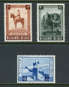 BELGIUM  SCOTT#B555/57   MINT HINGED WITH REMNANT -SCOTT $70.00 FOR NH