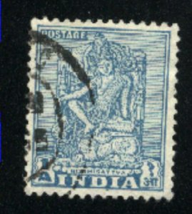 India 231  used VF 1950 PD