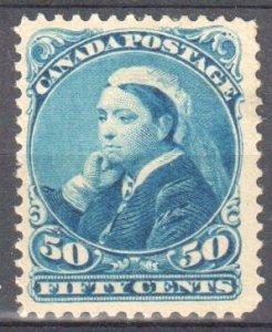 Canada #47 Mint F-VF OG H C$400.00