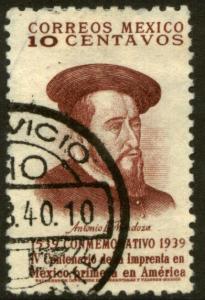 MEXICO 750 10c 400th Anniv 1st Printing Press in America(663