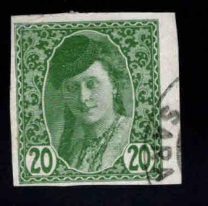Bosnia Herzegovina Scott P4 Used Newspaper stamp